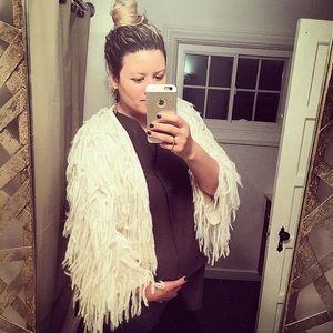 ASOS Maternity Assymetrical Sleeveless Top